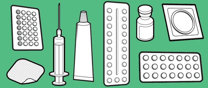 L'ensemble des méthodes de contraception non naturelles mais efficaces