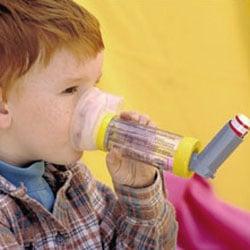 La chambre d'inhalation pour les enfants