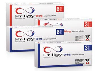 Acheter Priligy 30mg ou 60mg de Dapoxétine en ligne