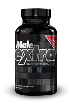Une boite de gélules Male Extra en photo