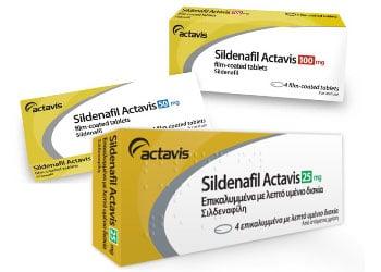 Il existe 3 dosages pour le Sildenafil: 25, 50 et 100 mg