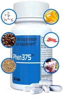 Les ingrédients naturels des pilules Phen375