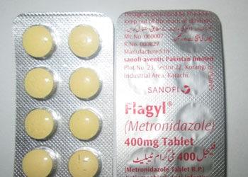 Le metronidazole est le principe actif du Flagyl