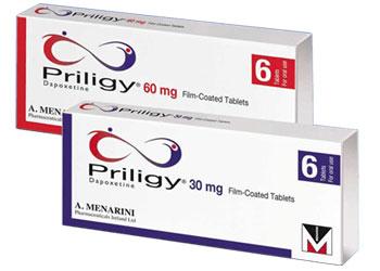 Le principe actif de Priligy est la Dapoxétine
