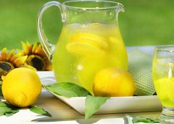 Eau citronnée pour aider à bruler les graisses