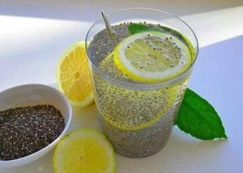 Le jus de citron et les graines de Chia sont de bons antioxydants